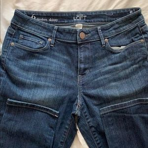 Loft- modern skinny jeans